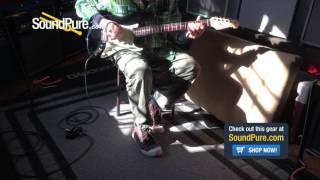 Michael Tuttle Custom Classic S Black HSS IRW #411 Quick n' Dirty