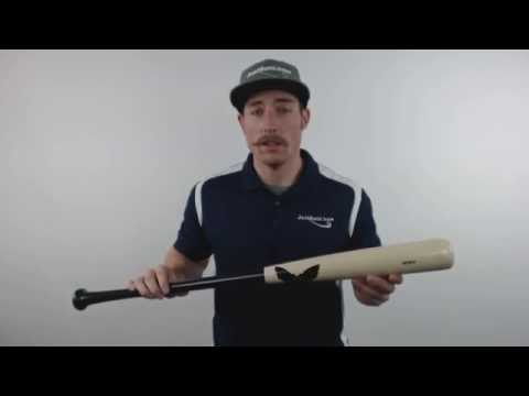 Sam Bat Maple Wood Baseball Bat: MMO Black/Natural Adult