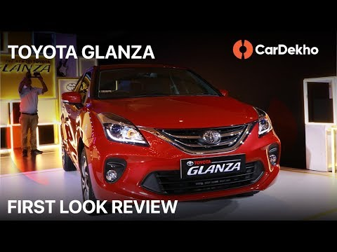 Toyota Glanza 2019 First Look in Hindi   Variants, Prices, Engines and All the Details  CarDekho.com