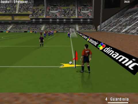 PC Fútbol Selección Española Mundial '98 (Seleccionador) (Dinamic) (Windows) [1998] [PC Longplay]