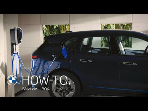 How does a BMW Wallbox work? | BMW How-To