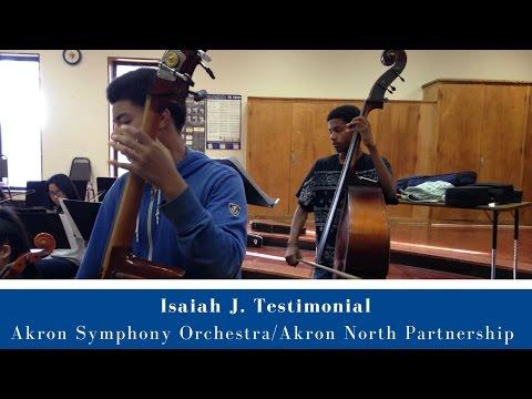 ASO-North High Isaiah J. Testimonial
