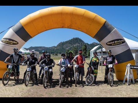 Super Bike eMoto vs E-Bike Race (Typhoon / Sur Ron / Stealth) Lake Tahoe