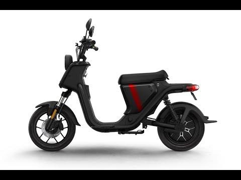 Niu U Pro Series 1200w 28mph Moped Static Review - Green-mopeds.com