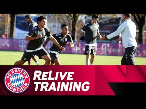 ReLive | Final FC Bayern Training Session ahead of Celtic Glasgow