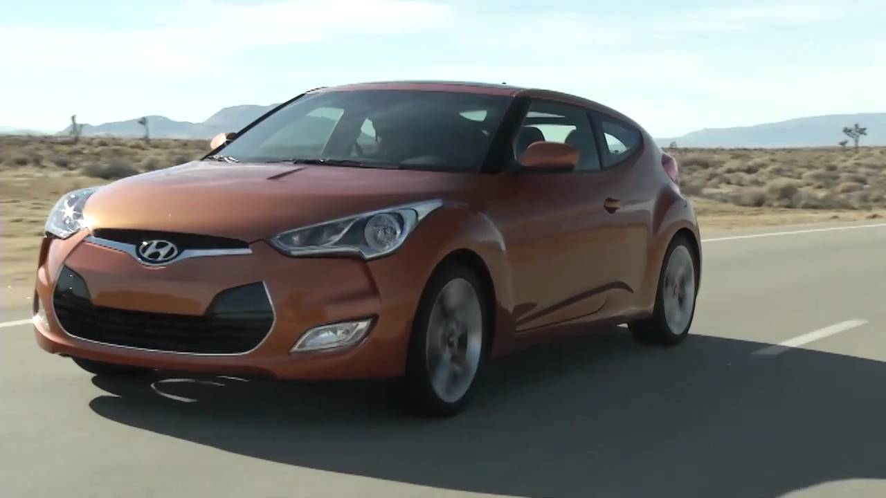 Hyundai Veloster-the 3 door coupe