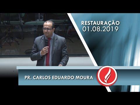 Pr. Carlos Eduardo Moura   O poder da oração   Mateus 7.6-12   01 08 2019