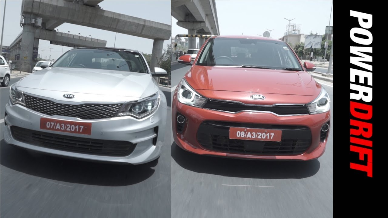 Kia Motors : India bound Rio & Optima Tested! : PowerDrift