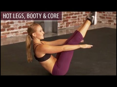 Hot Legs, Booty & Core Workout: Sweat Factor- Sam