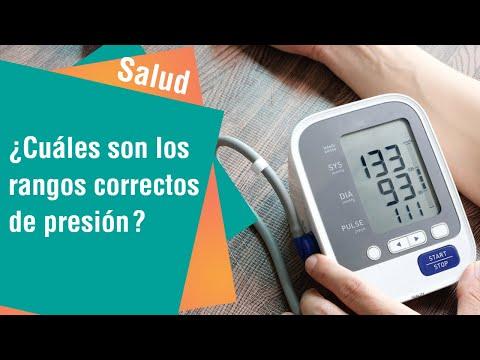 ¿Cuáles son los rangos adecuados de presión arterial   Salud