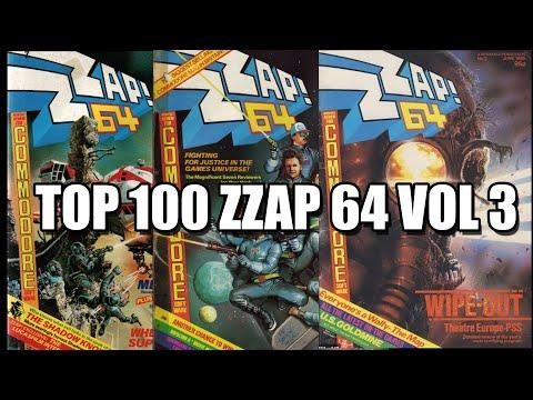 COMMODORE 64 TOP 100 ZZAP VOL 3