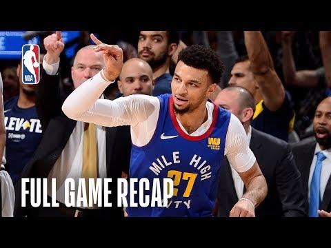 SPURS vs NUGGETS | Denver Defends Homecourt | Game 5