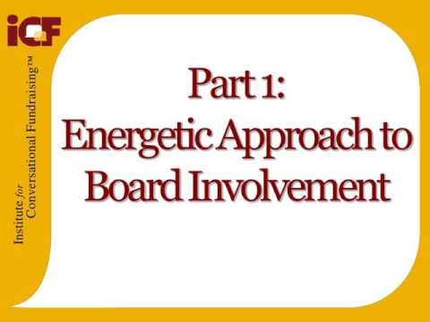 Involving Your Board Members in Fundraising From Day 1