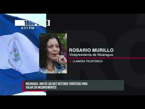 Vicepresidenta Rosario Murillo agradece donación de vacuna rusa - Nicaragua
