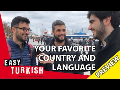 What's your favourite country and language? (Trailer) | Easy Turkish 22 photo