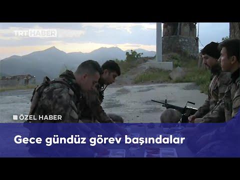 TRT Haber ekipleri, sınırın sıfır noktasında polislerle iftar yaptı