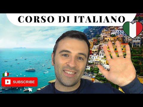 Curso de Italiano Básico 2 - Aprender Italiano, Frases en Italiano, Conversaciones con Marco Nisida