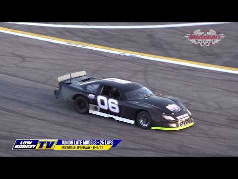 Jr Late Model Race - Irwindale Speedway 6/9/18