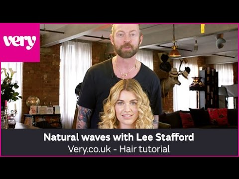 very.co.uk & Very Discount Code video: How to Create Natural Waves with Lee Stafford | Very Beauty