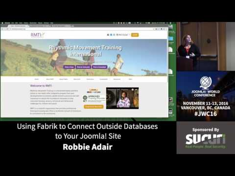 JWC 2016 - Using Fabrik to Connect Outside Databases to Your Joomla! Site - Robbie Adair