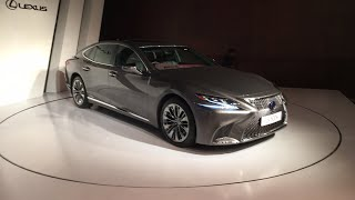 LIVE! Lexus LS 500h : The Suited Brawler