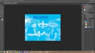 Photoshop CS6 Tutorial - 104 - Creating Spot Channels for Print