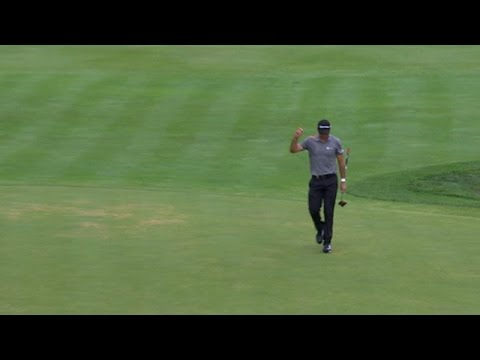 Jason Day pours in a 74-footer at PGA Championship