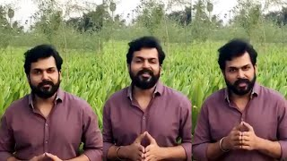 Actor Karthi About Agriculture | Karthi About Farmers | IG Telugu - IGTELUGU
