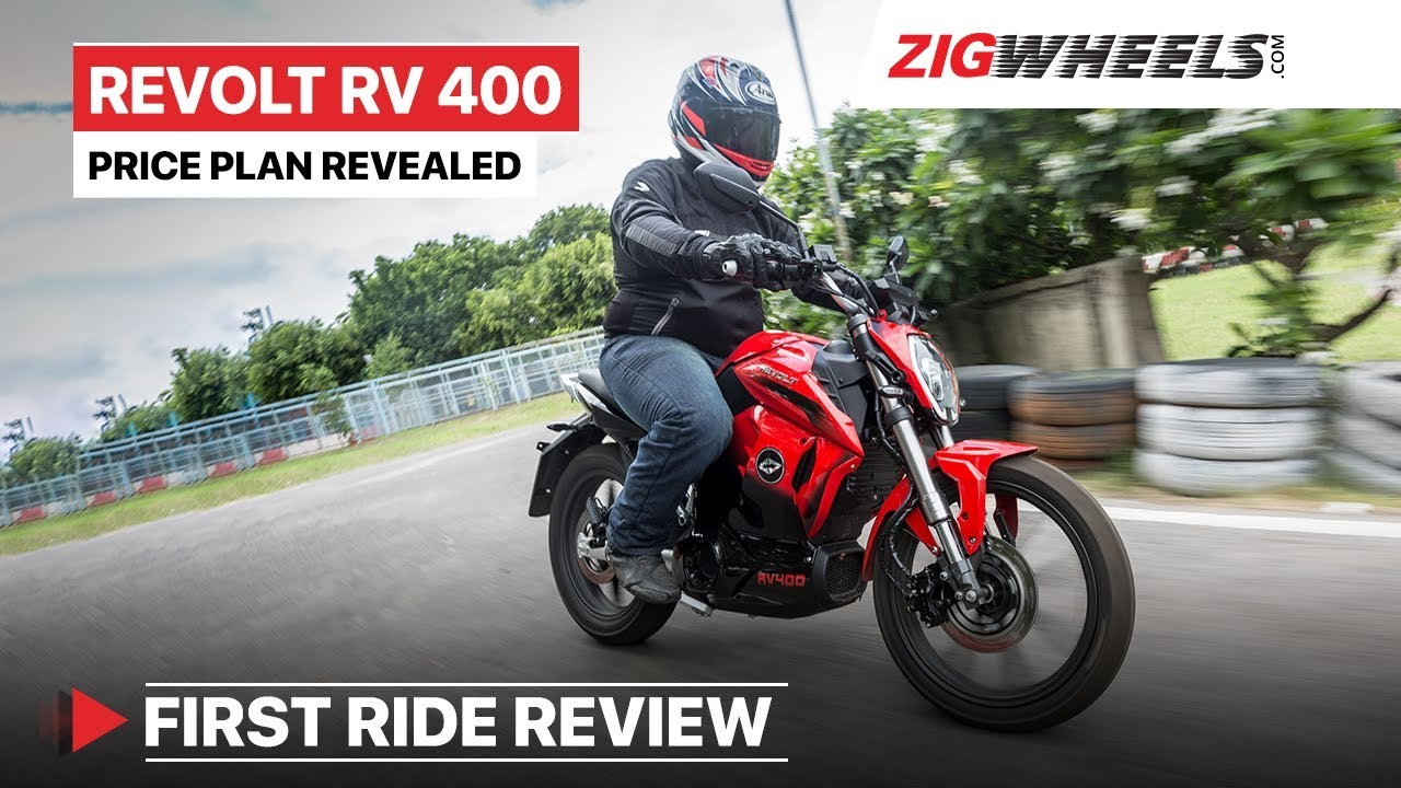 Revolt RV 400 (Electric Bike) Test Ride Review | India Price, Top Speed, Performance, Sound & More