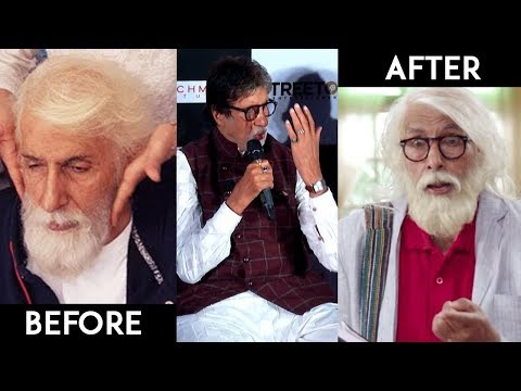 Amitabh Bachchan Talks About His Makeup And Transformation For 102 Not OUT