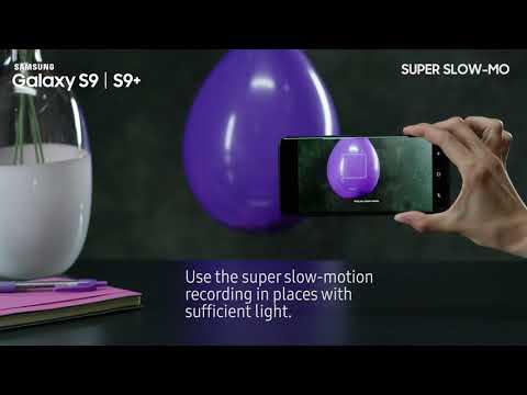 1. Sådan optager du en Super Slow-mo video på din Samsung Galaxy S9/S9+