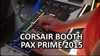 Corsair Strafe RGB, Scimitar RGB, and Void - PAX Prime 2015