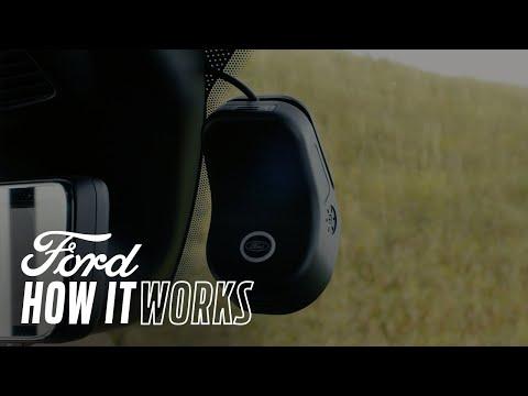 Integrovaná palubní kamera – Jak to funguje | Ford Česká republika