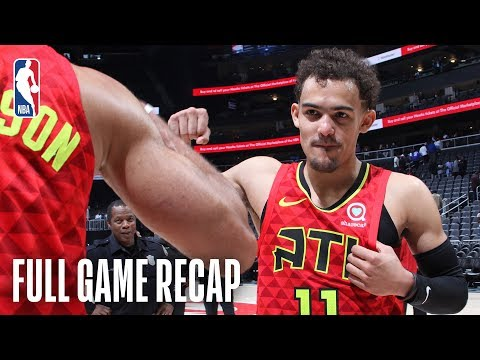 BUCKS vs HAWKS | Trae Young Comes Up Clutch For Atlanta | March 31, 2019