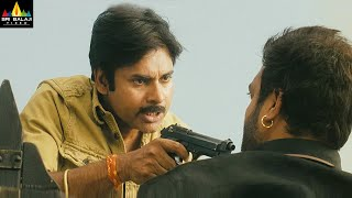 Gabbar Singh Movie Pawan Kalyan Warning to Abhimanyu Singh | Latest Telugu Scenes @SriBalajiMovies - SRIBALAJIMOVIES