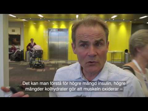 Stig Mattsson om långlopp med diabetes