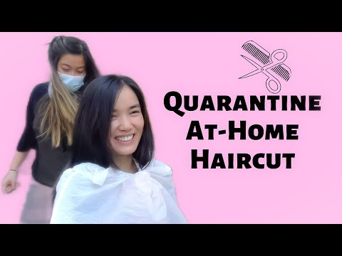 Getting a Haircut by my sister with ZERO experience