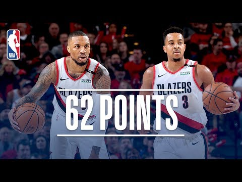 Damian Lillard and C. J. McCollum Lead Portland to a 2-0 Series Lead | April 16, 2019