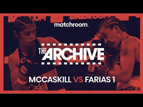 McCaskill vs Farias 1 | WBC World Super-Lightweight Championship FULL FIGHT 13
