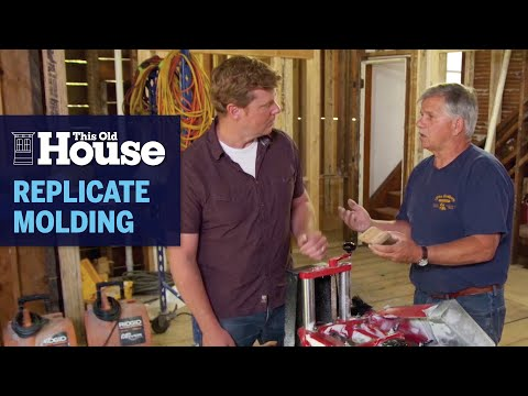 How to Replicate Victorian Crown Molding | This Old House photo