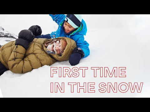 Gabriel's First Time in the Snow