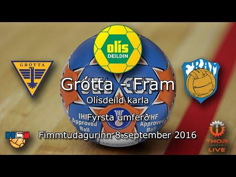 Grótta - Fram | Olísdeild Karla 2016 | Fyrsta umferð | 720p