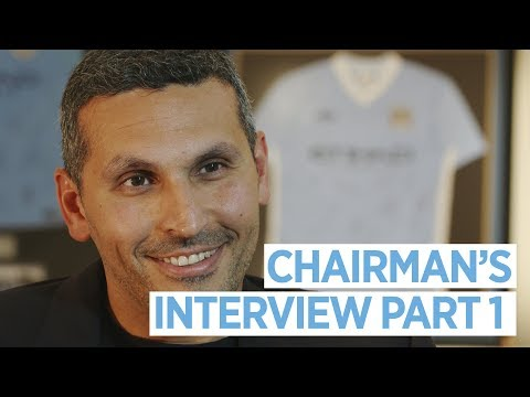 CHAIRMAN'S INTERVIEW | Manchester City 2017/18 End Of Season Review | Part 1