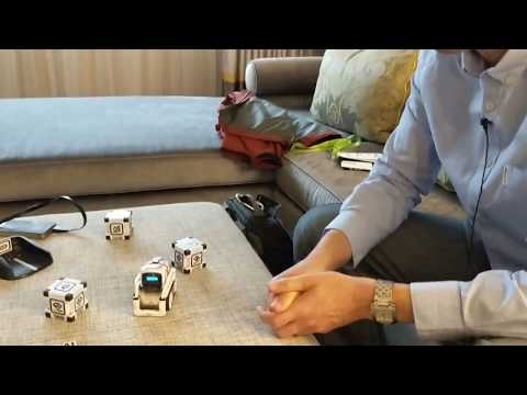 Behind the Scenes with Cozmo, the AI Powered Robot!