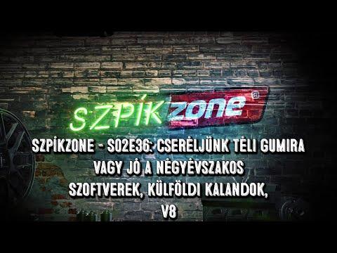 SzpíkZone – S02EP36: Szoftverek, külföldi kalandok, V8