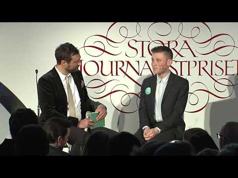 Patrik Hermansson | Stora Journalistpriset 2017