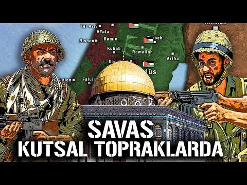 KUDÜS İÇİN SAVAŞ!! 1948 Arap-İsrail Savaşı ||DFT Tarih