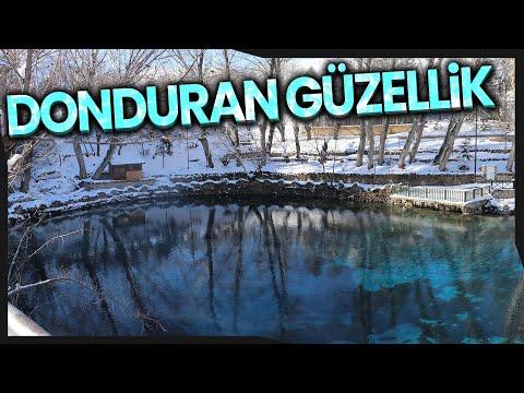 Anadolu'nun Nazar Boncuğu 'Gökpınar Gölü' Buz Tuttu