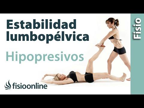Hipopresivos y su función en la estabilidad lumbopélvica