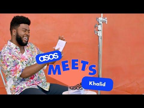 asos.com & Asos Voucher Code video: Khalid Reads Fan Tweets | ASOS Magazine